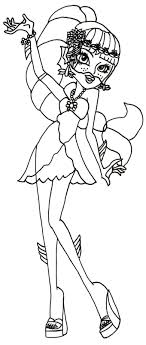 Small Picture Free Printable Monster High Coloring Pages Lagoona Blue 13 Wishes