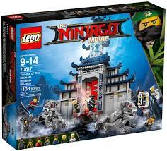 Amazon.com: LEGO Ninjago Movie Temple Ultimate Ultimate Weapon 70617  Building Kit (1403 Piece): Toys & Games