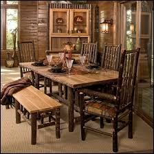 mountain lodge style furniture. fireside lodge furniture hickory dining set with high back chairs mountain style f
