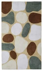 pebble beach bath rug