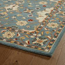 kaleen hand tufted middleton teal wool rug traditional area rugs by kaleen rugs