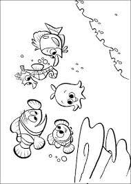 Disegno Di Gli Amici Di Nemo Da Colorare Disegni Da Colorare E