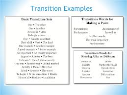 essay transition examples twenty hueandi co transition examples