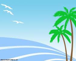 Summer Powerpoint Templates Summer Palms Powerpoint Template