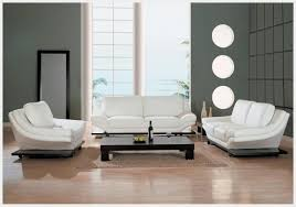 White Leather Living Room Chair Modern Leather Living Room Furniture Sets Furnitures Design