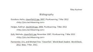 Best Photos Of Bibliography Format For Websites Example