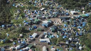 Image result for calais migrant camp