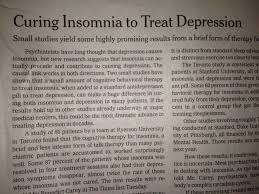 research on depression and insomnia dr brettdr brett depression and insomnia