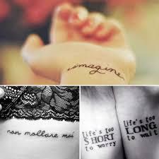 Tatuaggi Con Scritte Le Più Belle Foto E Idee