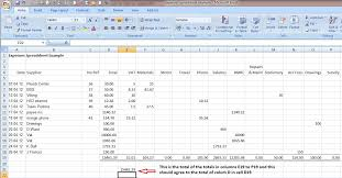 Accounting Sheets For Small Business Examples Of Spreadsheets For Small Business Magdalene