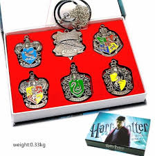 new harry potter cosplay alloy stereo pendant reward logo necklace magic academy set accessories gift box