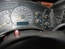 Sparky's Answers - 2000 Chevrolet Suburban, Instrument Cluster ...