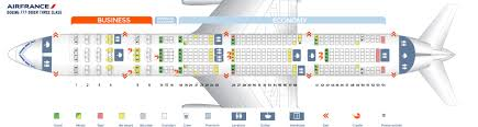 Seat Map Boeing 777 300 Air France Best Seats In Plane