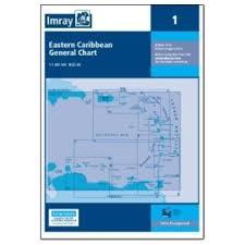 Imray Charts Caribbean Chart 1 Eastern Caribbean General Chart