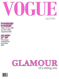 Magazine Cover Template Party Time Glam Night Magazine Cover