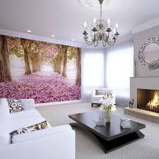Wall Mural For Living Room Floral Forest Wall Murals Graham Brown