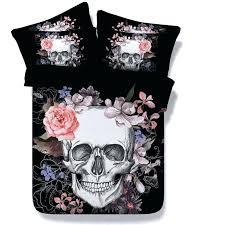 fl skull bedding set and crossbones bones