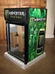 Monster Energy Drink Vending Machine New Monster Energy Fridge IDW G48C Counter Top Refrigerator Beverage