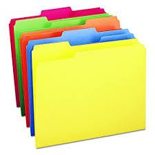 file folders. Modren Folders Smead File Folder 13Cut Tab Letter Size Assorted Colors Intended Folders