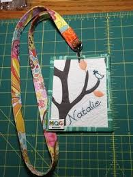 Custom fabric nametag made by jeli quilts | Home - I Wanna Make ... & My new name tag for quilt guild by Natalie @nurturecreations Adamdwight.com