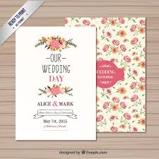Free Downloadable Wedding Invitation Templates Wedding invitation template Vector Free Download 15