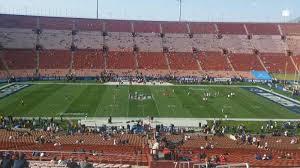 La Coliseum Seating Chart Soccer Los Angeles Memorial Coliseum Section 7l Home Of Usc