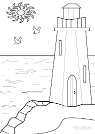 Small Picture Printable Lighthouse Coloring Pages For Kids Cool2bKids