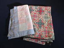 Vintage Patchwork Quilt | eBay & Patchwork Quilts Vintage Pastel Squares Fenboch Smaller Crib Doll Size Lot  of 2 Adamdwight.com