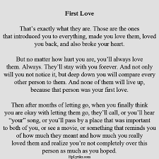 First Love Quotes Unique First Love Via Tumblr On We Heart It