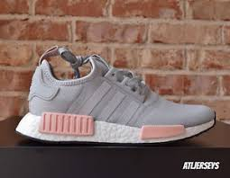 adidas shoes nmd grey and pink. image is loading adidas-nmd-r1-runner-grey-vapour-pink-light- adidas shoes nmd grey and pink u