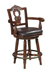 Buy Ashley Furniture North Shore Upholstered Swivel Barstool