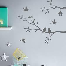 ka hues 68x62cm self adhesive bird tree