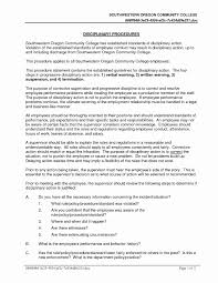 Disciplinary Forms For Employees Free Free Employee Disciplinary Forms Beautiful Employee Discipline