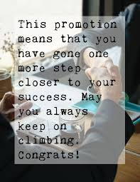 Congrats On Your Promotion Congratulation For Job Promotion Quotes Wishes Messages