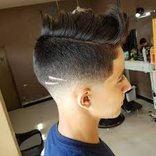 Cross Haircut Design Types Of Fade Haircuts 2020 Update