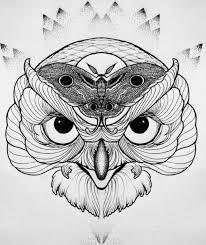 тритатушки архив блога эскизы тату сова
