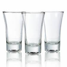 3 6 or 12 85ml double shot glasses alcohol vodka shooter drinking party