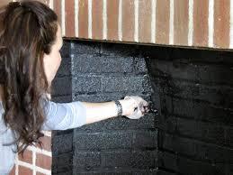 original brick fireplace painting inside box s4x3