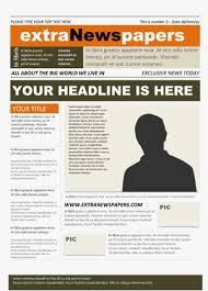 Free Wordperfect Templates Microsoft Word Newspaper Template Free Newspaper Template Pack For