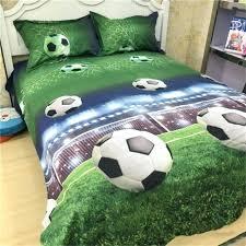 sport bedding sets soccer ball football bedding set duvet cover pillowcases queen football bedding set twin