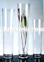 large glass cylinder vases tall vases in bulk designs interest incredible decorating room cylinder
