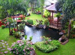 Small Picture Cool Backyard Pond Garden Design Ideas Amazing Architecture