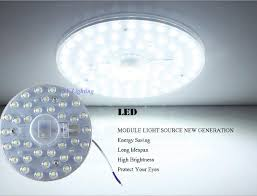 round pcb board led module 12w 18w 24w 36w replace ceiling lamp white warm white light retrofit ceiling lamp module retrofit replace bulb led panel down