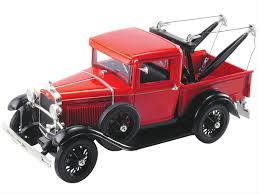 1:18 Scale 1931 Ford Model A Tow Truck Diecast Model 18116RED - Free ...