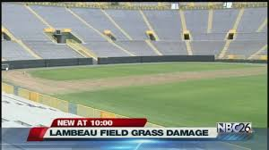 Chesney Aldean Concert Damages Grass At Lambeau Field