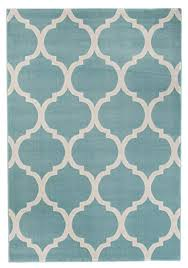 tapiso area rugs living room bedroom trellis blue durable carpet mat modern interior can collection size
