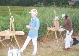 Evelyn Rhodes and Carol Shelton captured the scene | Jamestown Press