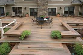 Patio Decks Maryland Deck Builders The Deck Fence Company