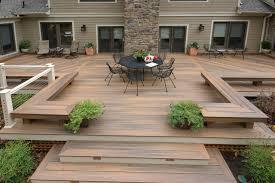 Patio Decks Maryland Deck Builders The Deck Fence Company