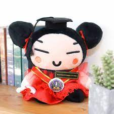 Red Medium Pucca Doll Graduation Gift